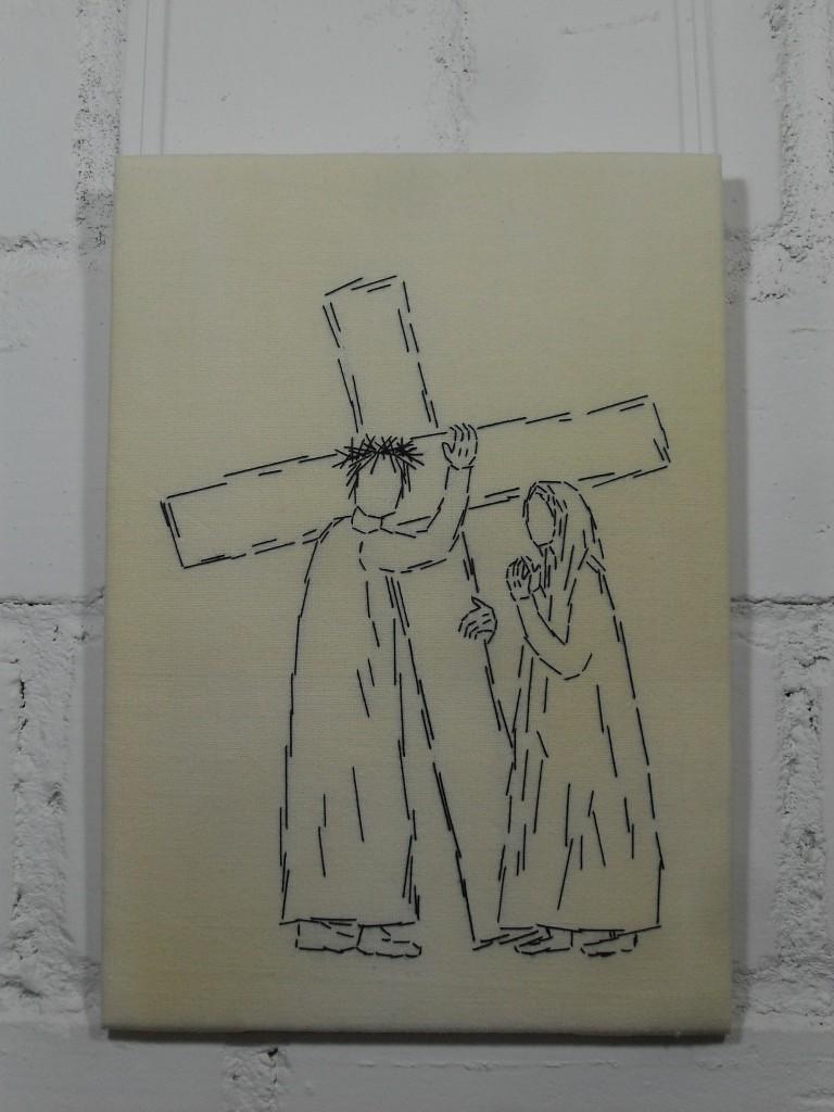 4. Station: Jesus begegnet seiner Mutter.