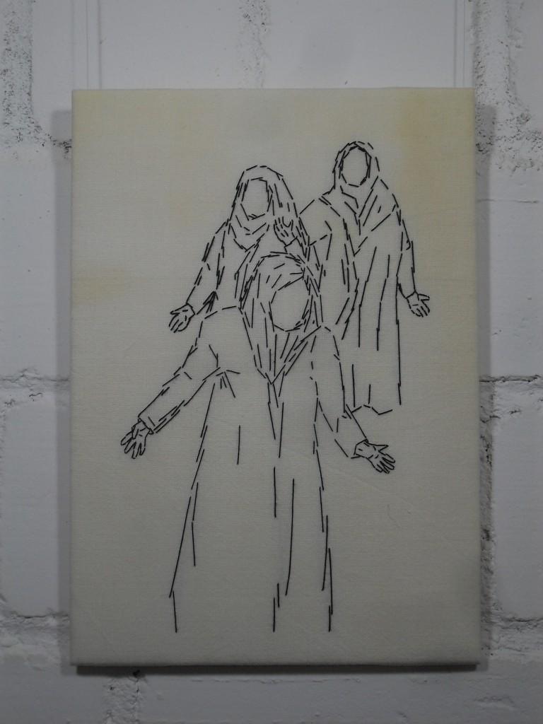 8. Station: Jesus begegnet den weinenden Frauen.